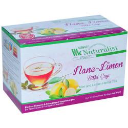 Günvit - Nane Limon Bitki Çayı 20 Süzen Pşt (1)