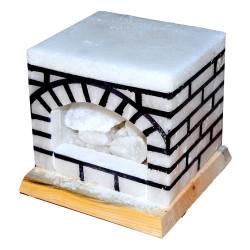 LokmanAVM - Şömine Kaya Tuzu Lambası 17X17 (1)