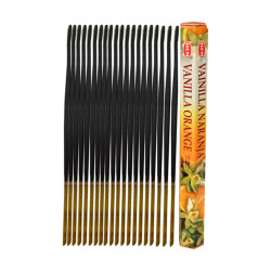 Hem Tütsü - Vanilya Portakal Kokulu 20 Çubuk Tütsü - Vanilla Orange (1)