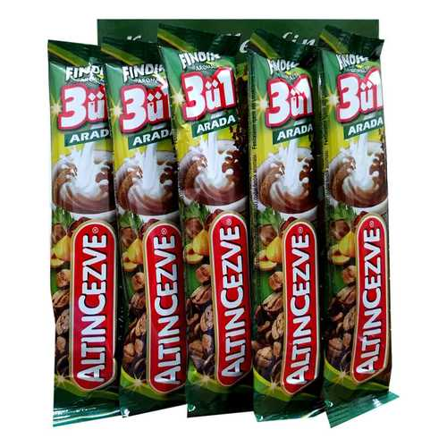 3 ü 1 Arada Fındık Aromalı Kahve 15 Gr X 20 Adet - Üçü Birarada Fındıklı