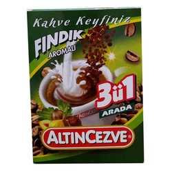 Altıncezve - 3 ü 1 Arada Fındık Aromalı Kahve 15 Gr X 20 Adet - Üçü Birarada Fındıklı Görseli