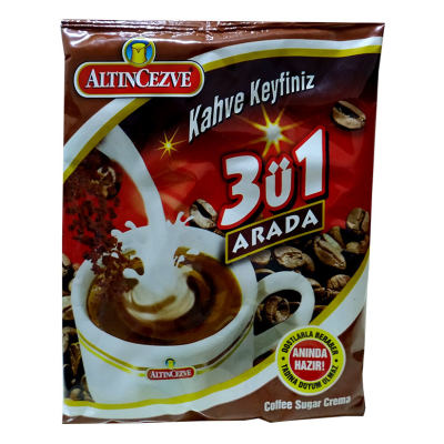 3 ü 1 Arada Hazır Kahve 250 Gr - Üçü Birarada