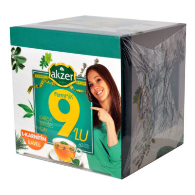 9lu Form Bitkisel Çay 60 Süzen Pşt
