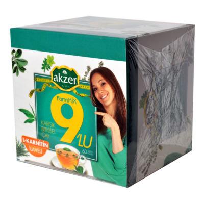 9lu Form Bitkisel Çay 60 Süzen Poşet