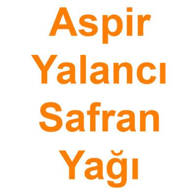 Aspir Yağı Yalancı Safran Yağı kategorisi ürünlerini inceleyin!