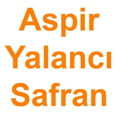 Aspir Yalancı Safran kategorisi ürünlerini inceleyin!