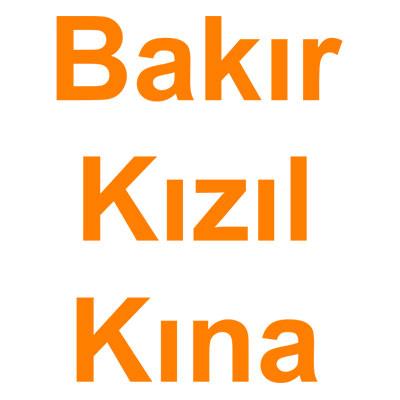 Bakır Kızıl Kına (Orange) kategorisi ürünlerini inceleyin!