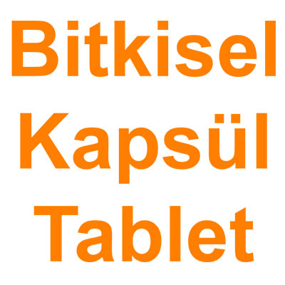 Bitkisel Kapsül Tablet kategorisi ürünlerini inceleyin!