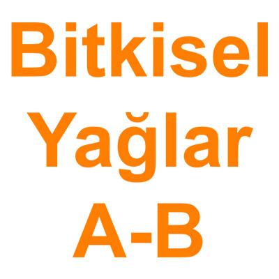 Bitkisel Yağlar A-B kategorisi ürünlerini inceleyin!