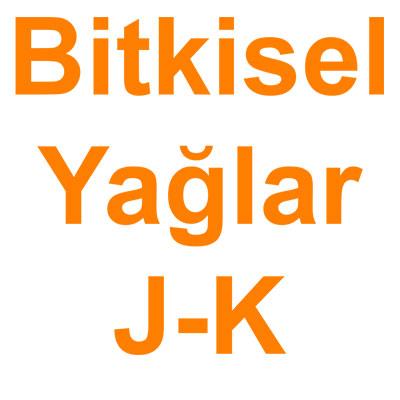 Bitkisel Yağlar J-K kategorisi ürünlerini inceleyin!