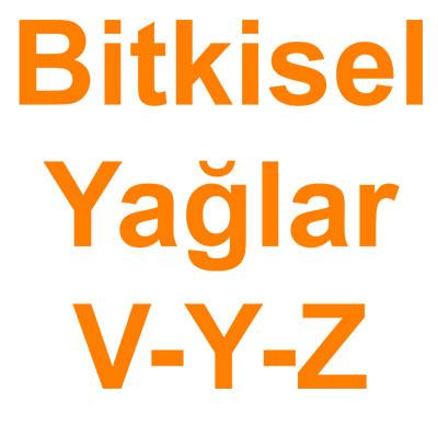 Bitkisel Yağlar V-Y-Z kategorisi ürünlerini inceleyin!