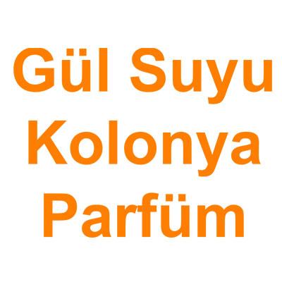 Gül Suyu Kolonya Parfüm kategorisi ürünlerini inceleyin!