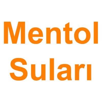 Mentol Suları kategorisi ürünlerini inceleyin!