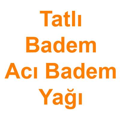 Tatlı Badem Acı Badem Yağı kategorisi ürünlerini inceleyin!