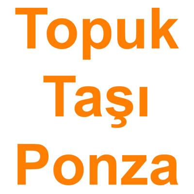 Topuk Taşı Ponza kategorisi ürünlerini inceleyin!