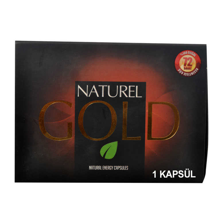 10001 NATUREL GOLD BİTKİSEL 1KAPSÜL