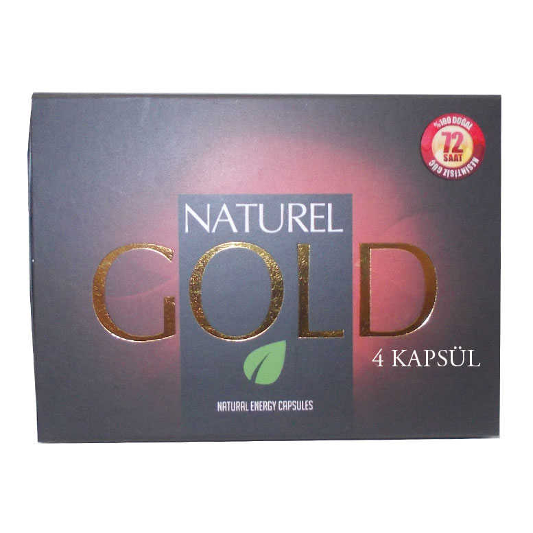 1001 NATURAL GOLD BİTKİSEL 4KAPSÜL