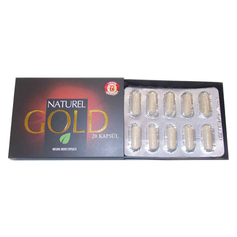1001 NATURAL GOLD BİTKİSEL 20KAPSÜL
