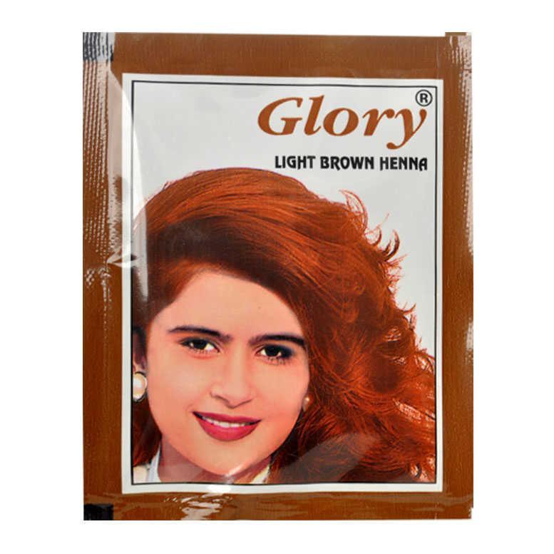 Glory - Açık Kahverengi Hint Kınası 10Gr (1)