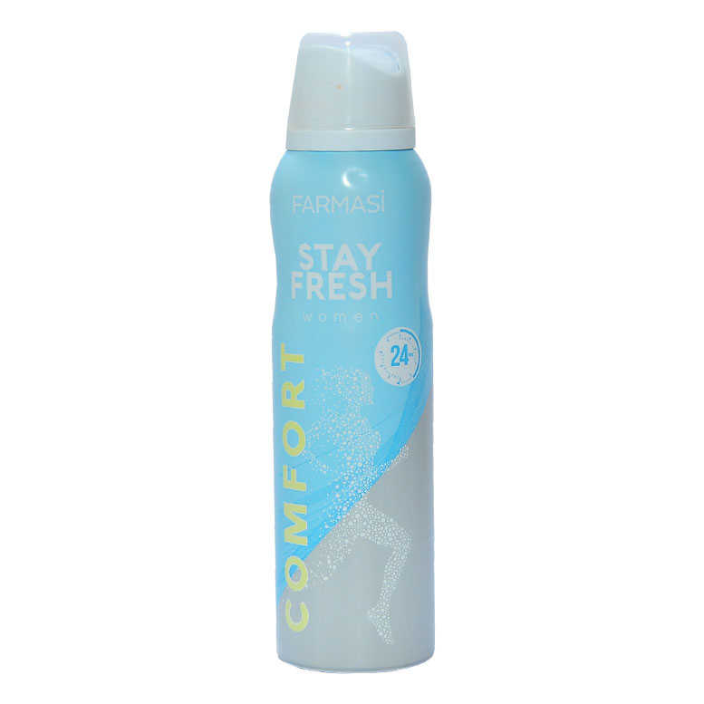 FARMASİ STAY FRESH COMFORT DEODORANT FOR WOMEN