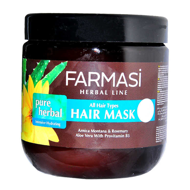 FARMASİ PURE HERBAL NEMLENDİRİCİ SAÇ MASKESİ