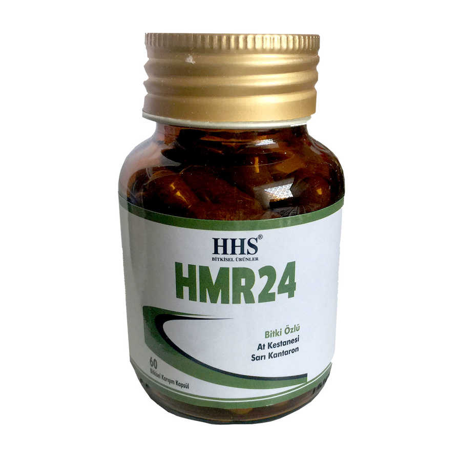 HHS HMR24 BİTKİ ÖZLÜ 60 KAPSÜL