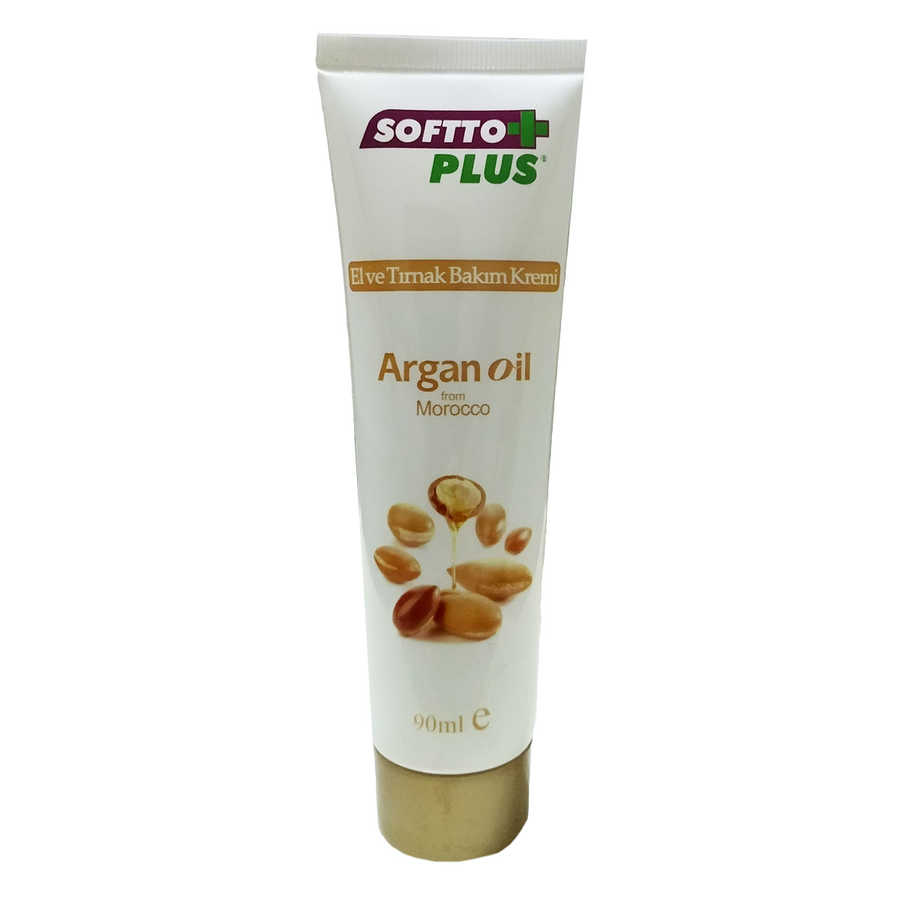 SOFTTO PLUS ARGAN YAĞLI EL VE TIRNAK BAKIM KREMİ