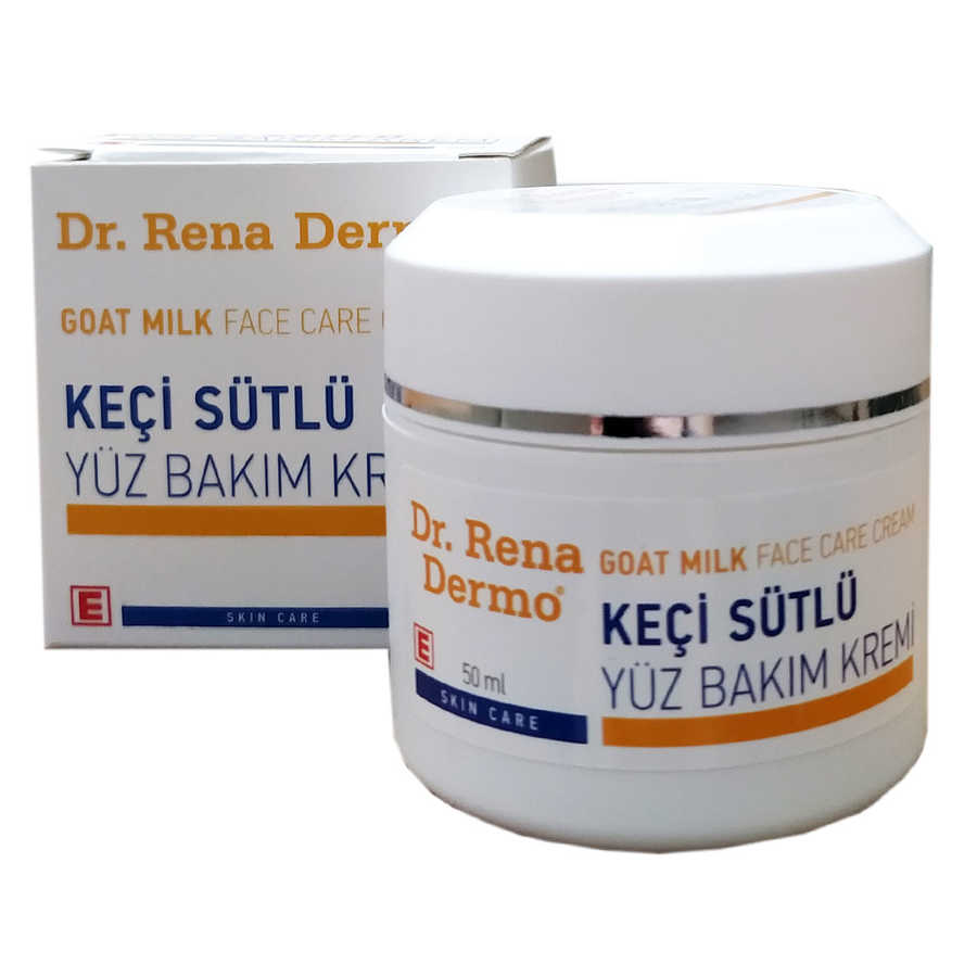 DR. RENA DERMO KEÇİ SÜTLÜ YÜZ BAKIM KREMİ