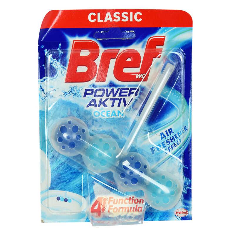 BREF WC POWER AKTİF OKYANUS KOKULU KLOZET TEMİZLİK KOKU GİDERİCİ
