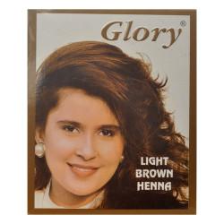 Glory - Açık Kahverengi Hint Kınası (Light Brown Henna) 10 Gr Paket Görseli