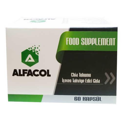 Chia Tohumlu 60 Kapsül - Food Supplement