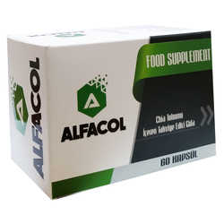 Alfacol - Chia Tohumlu 60 Kapsül - Food Supplement (1)