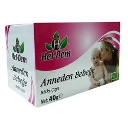 Hel-Dem - Anneden Bebeğe Bitki Çayı 20 Süzen Poşet Görseli