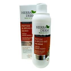 HerbaDerm - Argan Yağlı Saç Kremi Yoğun Hasar Onarıcı 330 ML Görseli