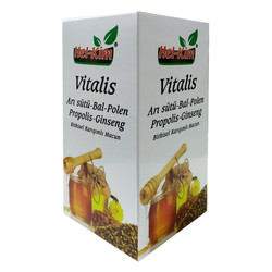Arı Sütü Bal Polen Propolis Ginseng Karışımı 420 Gr - Thumbnail