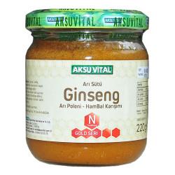 Arı Sütü Ginseng Polen Bal Karışımı 220 Gr - Thumbnail