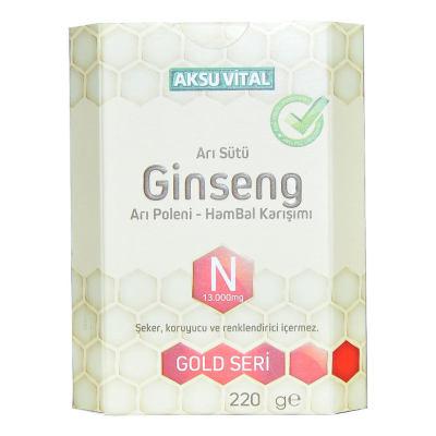 Arı Sütü Ginseng Polen Bal Karışımı 220 Gr
