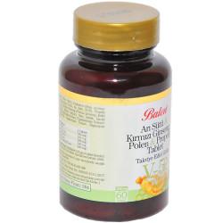 Balen - Arı Sütü & Kırmızı Ginseng & Polen & Propolis 60 Tablet (1)