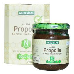 Aksuvital - Arı Sütü Propolis Polen Bal Karışımı 220 Gr Görseli