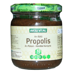 Arı Sütü Propolis Polen Bal Karışımı 220 Gr - Thumbnail