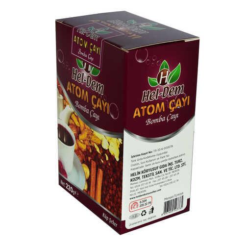 Atom Çayı Tarçınlı Bomba Çayı Küp Şeker 220 Gr