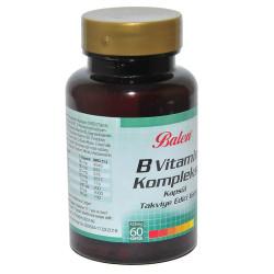 Balen - B Vitamin Kompleksi 60 Kapsül (1)