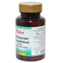 B Vitamin Kompleksi 60 Kapsül - Thumbnail