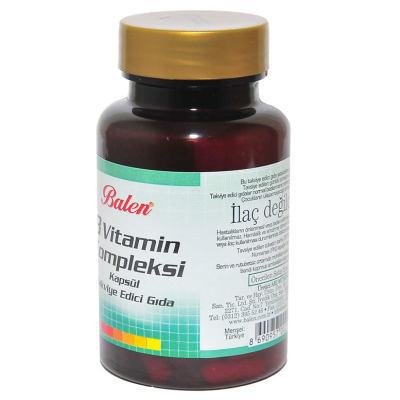 B Vitamin Kompleksi 60 Kapsül