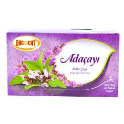 Bağdat Baharat - Adaçayı Bitki Çayı 20 Süzen Pşt (1)