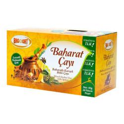 Bağdat Baharat - Baharatlı Karışık Bitki Çayı 20 Süzen Poşet Görseli