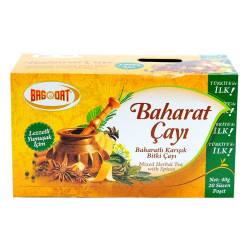 Baharatlı Karışık Bitki Çayı 20 Süzen Pşt - Thumbnail