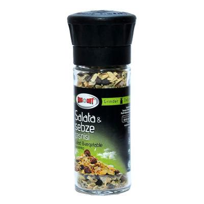 Salata ve Sebze Çeşnisi Cam Değirmen 45Gr