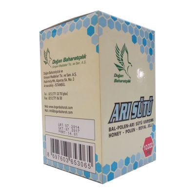 Bal Polen Arı Sütü Karışımı Normal Doz 10000 Mg