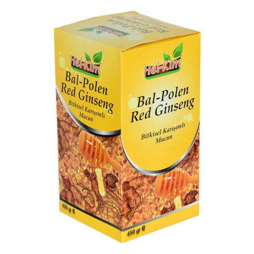 Bal Polen Red Ginsengli Bitkisel Karışımlı Macunnu 450 Gr